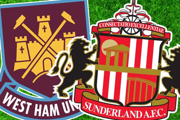 sunderland vs west ham